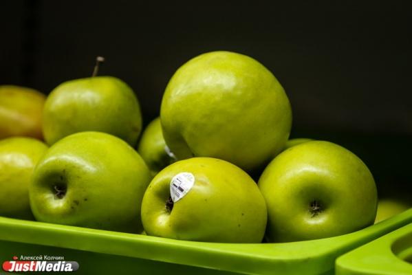 На Урале уничтожили более 1,5 тонн санкционных яблок