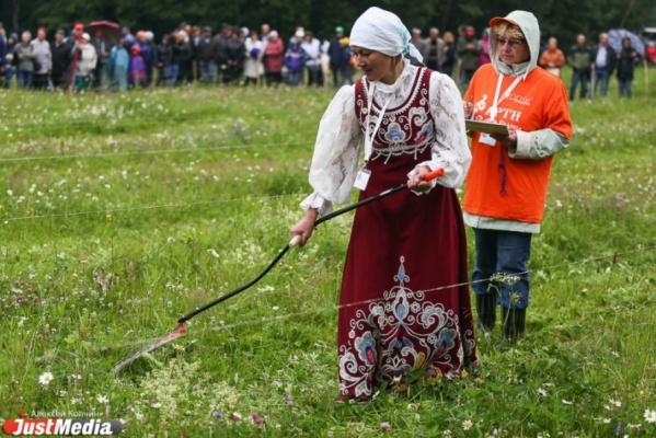 В седьмом международном турнире косарей приняли участие более 5 тысяч человек