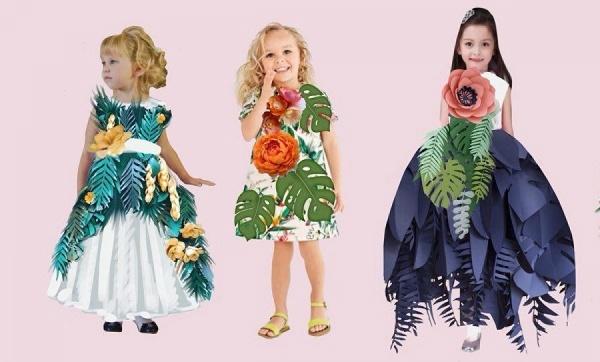Тропические принты, чемоданы и якоря на платьях. Уральские модельеры презентуют новую летнюю коллекцию одежды их необычных материалов