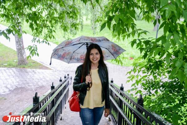 PR-специалист Екатерина Пабина: «Сегодняшний день дает нам возможность отдохнуть от жары». В четверг в Екатеринбурге +21 и дожди. ФОТО, ВИДЕО