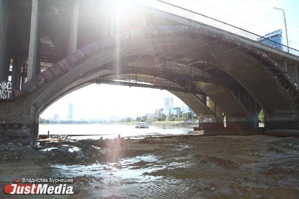 Уровень воды в Городском пруду сократят на метр