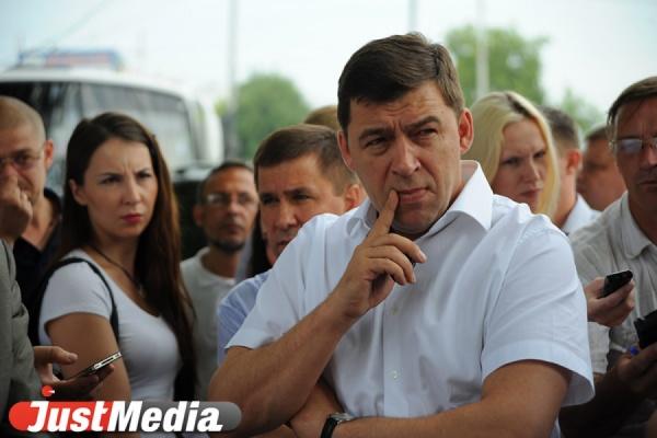 Евгений Куйвашев: «Распорядился срочно организовать снабжение питьевой водой в Североуральске. Сейчас это приоритетная задача для властей»