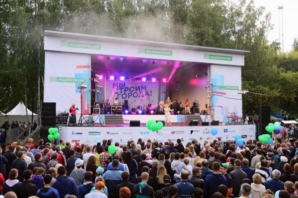 День строителя соберет музыкальных звезд Екатеринбурга и Питера
