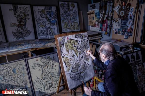 «Я – книжный иллюстратор». В Белинке в честь 90-летия Виталия Воловича откроется выставка