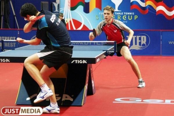Два представителя УГМК могут выступить на чемпионате Европы по настольному теннису