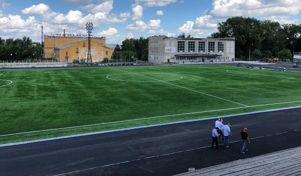 Временные трибуны с«Екатеринбург Арены» установят настадионе вИрбите