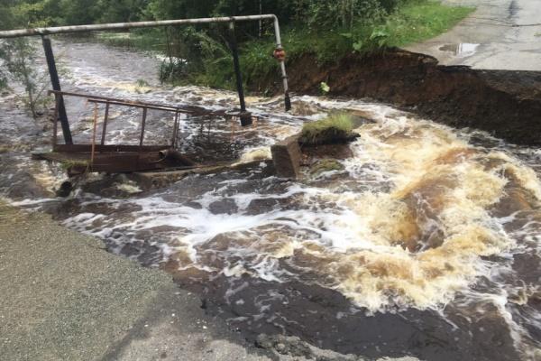 В МЧС рассказали, когда восстановят разрушенный мост в Кировграде
