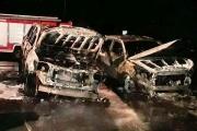 В Нижнем Тагиле неизвестные подожгли внедорожник бывшего пресс-секретаря главы города