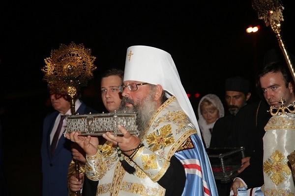 Мощи святителя Спиридона Тримифунтского доставили вЕкатеринбург