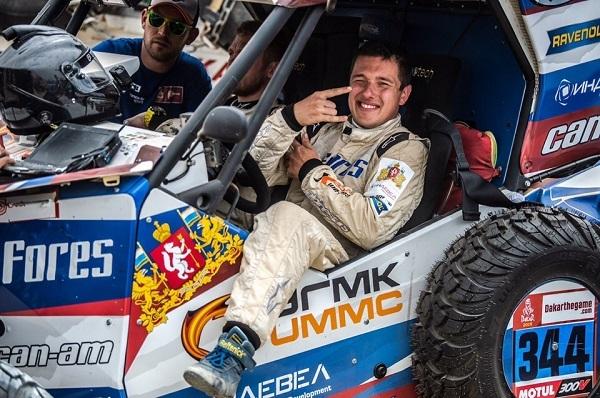 Уральский гонщик Сергей Карякин финишировал третьим по итогам второго этапа «Дакара-2019»