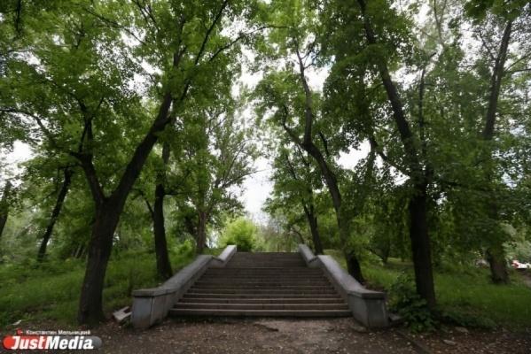 В Основинском парке Екатеринбурга отремонтируют пешеходные дорожки