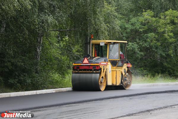 В Свердловской области отремонтировали часть Серовского тракта и ЕКАДа