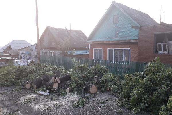 В Кушве, пострадавшей от урагана, полностью возобновлена подача энергии в жилые дома