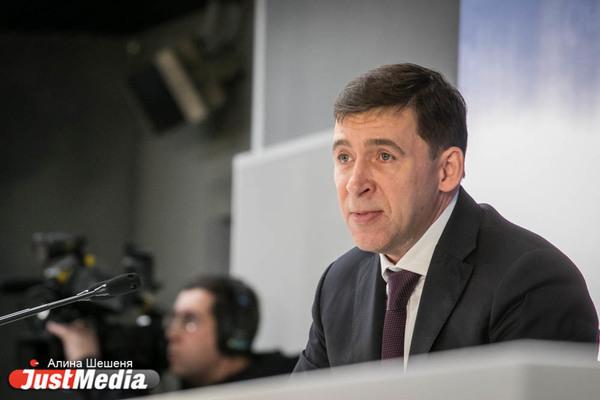 Евгений Куйвашев поблагодарил экипаж самолета Airbus A321, севшего на кукурузное поле, за мужество и героизм
