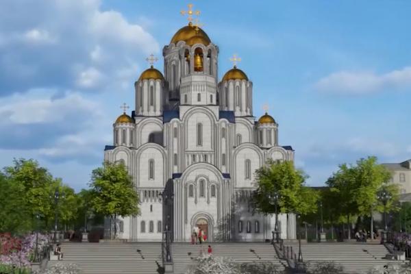 Мэрия Екатеринбурга показала, как изменятся площадки под строительство храма святой Екатерины после возведения собора