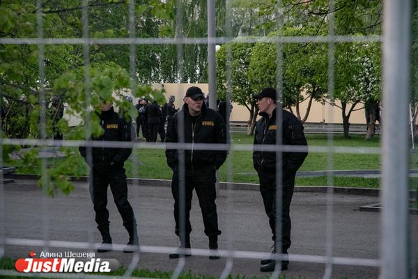 Свердловский облсуд закрыл дело активиста, задержанного на митинге в сквере у Драмы