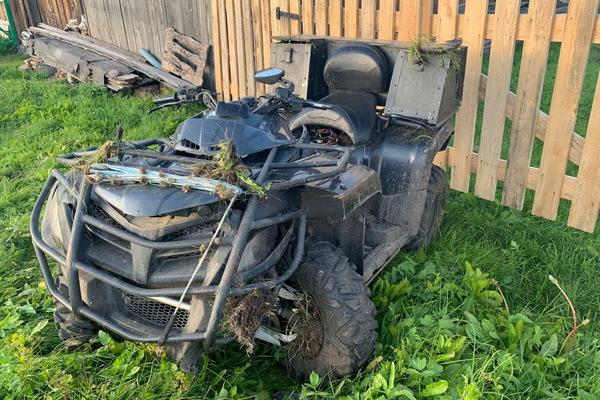 Беспечность погубила водителя квадроцикла в Артемовском