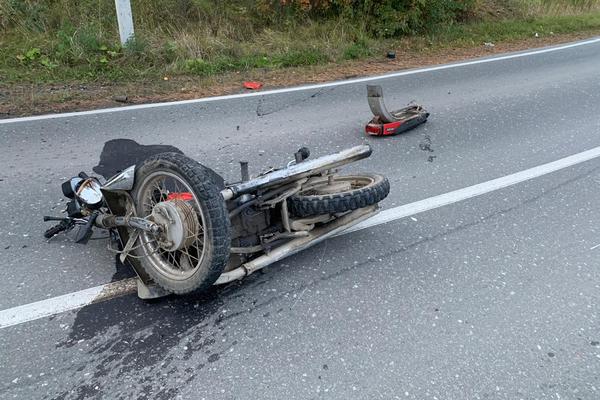 Под Нижней Турой мотоциклист погиб под колесами «Нивы»