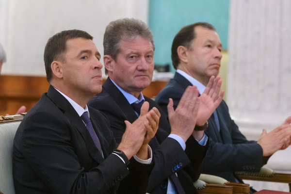Евгений Куйвашев поблагодарил УГМК за ледовые арены, техуниверситет и современные медценты