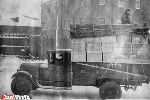 Почтовый автомобиль 1930-1940-е годы. ФОТО: Свердловского филиала «Почты России».