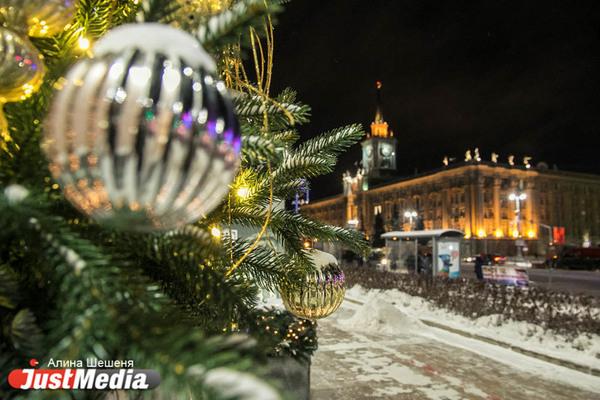 Праздничное освещение в центре Екатеринбурга обойдется в 50 миллионов рублей