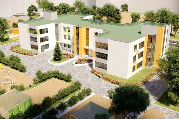 В жилом районе «Изумрудный бор» появится современный детский сад на 300 мест