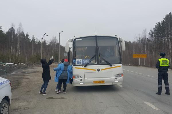 В Серове начали регистрировать всех въезжающих в город