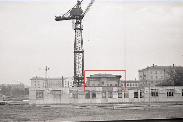 Генеральская, 15, опытный дом №6. ФОТО сделано в 1960-е годы.