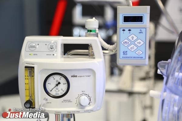 В свердловском госпитале ветеранов войн начали монтировать аппараты ИВЛ от СОСПП