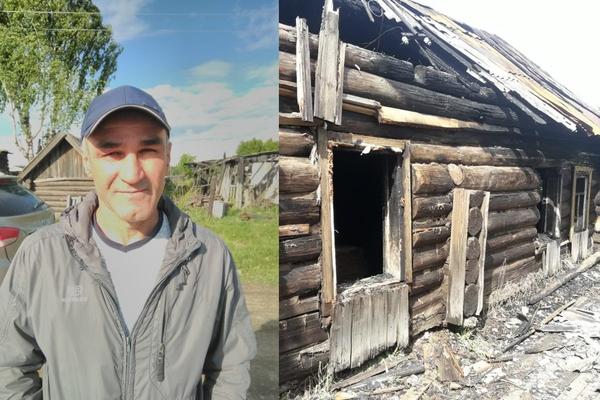 Житель поселка Махнево спас односельчанина из горящего дома