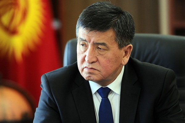 Президент Киргизии ушел в отставку