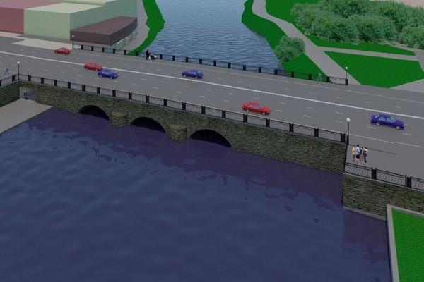 Фото: проектная документация реконструкции моста на Малышева