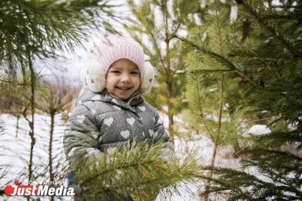 Влада Фурса, 4 года: «Елка к детям торопилась и на праздник нарядилась». Новый год в Екатеринбурге будет теплым и ясным