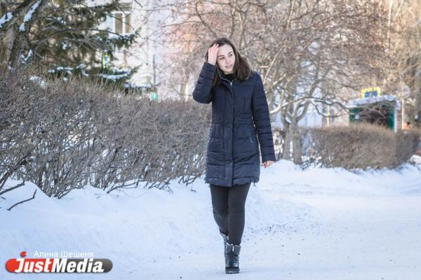 Юлия Махрова, исполнительный директор проекта KatadZe: «Люблю зиму, потому что в это время года мой день рождения». В Екатеринбурге -11