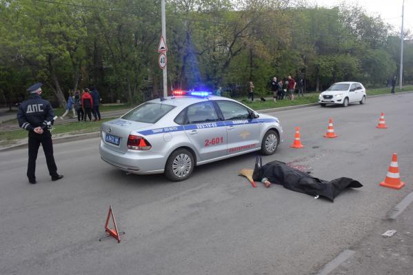 В Екатеринбурге водитель «Лексуса» насмерть сбил бабушку