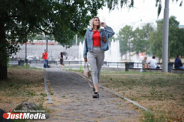 Алена Коржова, маркетолог: «Наконец-то, невыносимая екатеринбуржская жара сменилась прекрасной прохладой». В Екатеринбурге +22 и дожди