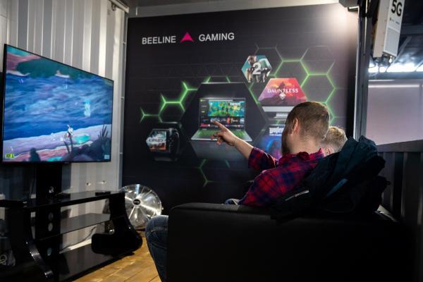 Игры на скорости 5G: Билайн запустил пилотную зону связи пятого поколения в Санкт-Петербурге