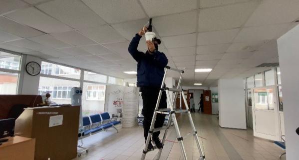 В школах Свердловской области устанавливают тепловизоры для дистанционного измерения температуры