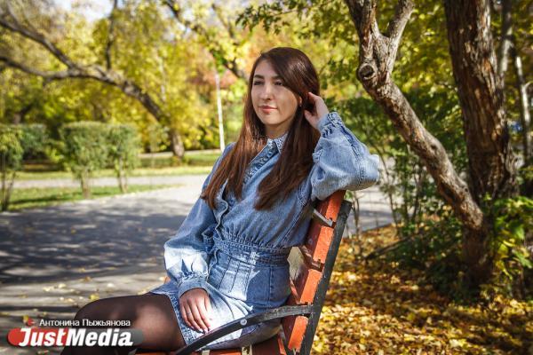 Валентина Быкодорова, инженер: «Безумно люблю осень за ее романтическую пору. Это так красиво, когда на улице солнышко и красненькие листочки». В Екатеринбурге +5