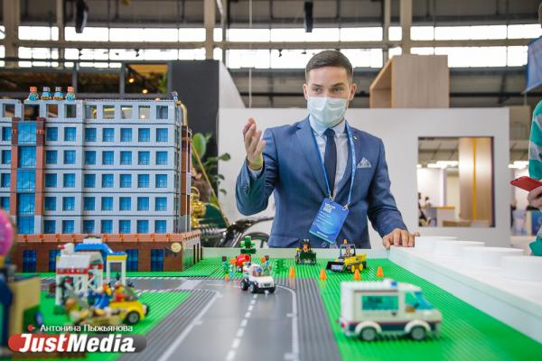 УГМК на 100+ Forum Russia показала свои проекты в виде конструктора