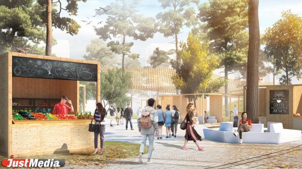 От амфитеатра до пляжного комплекса с бассейном: смотрим, как изменится Преображенский парк
