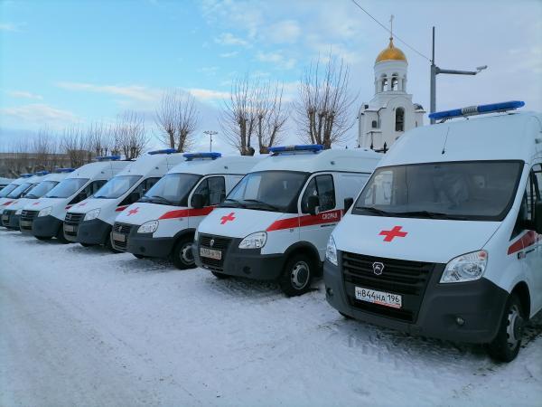 В Нижнем Тагиле, Каменске-Уральском и Первоуральске автопарк «скорых» пополнился новыми машинами