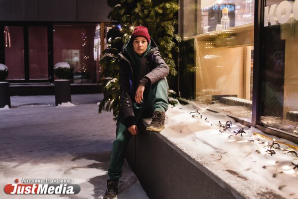 Системный аналитик Полина Савостина: «В такую погоду лучше всего сидеть дома или перебегать от кофейни до кофейни». В Екатеринбурге -23 градуса