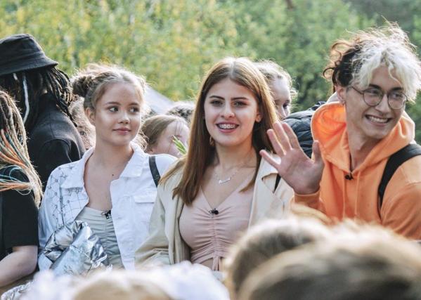 Школьница из Екатеринбурга приняла участие в проекте «Колледж» на СТС