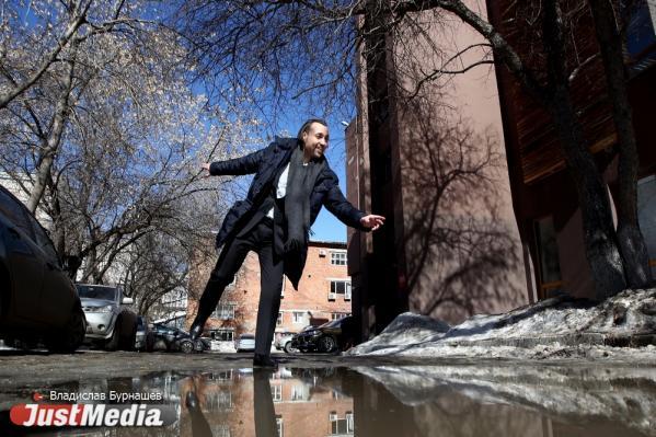 Евгений Толстов, театр музыкальной комедии: «Принимаем солнечные ванны, но главное, не поскользнуться, чтобы не принять грязевые». В Екатеринбурге +4 градуса