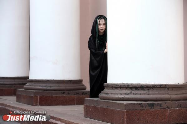 Ирина Салихова, театр «Верона»: «И в такую погоду можно полетать на метле». В Екатеринбурге +13 градусов